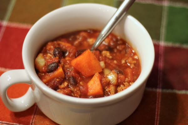 sweet potato turkey chili recipe