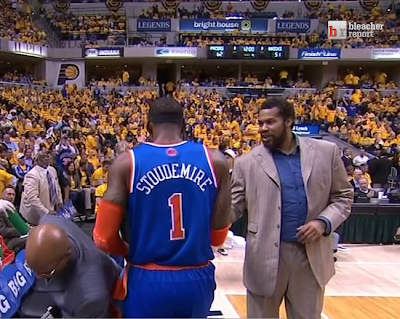 Rasheed Wallace fat suit