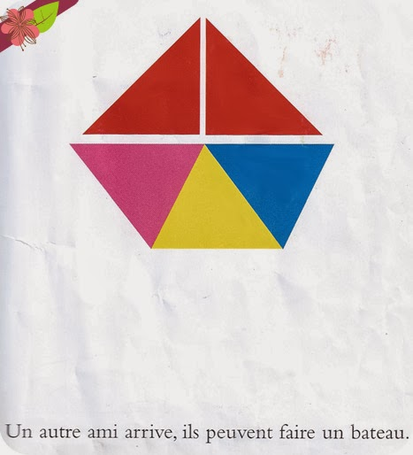 """Petit triangle a trois ans"" de Philippe Sedletzki"