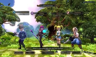 Beberapa karakter Dragon Nest