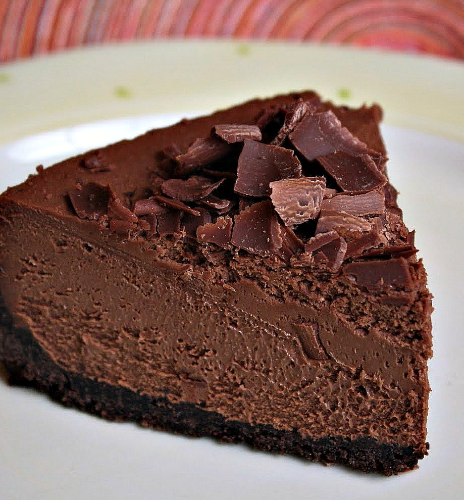Jane's Sweets & Baking Journal: Triple Chocolate Espresso Cheesecake ...