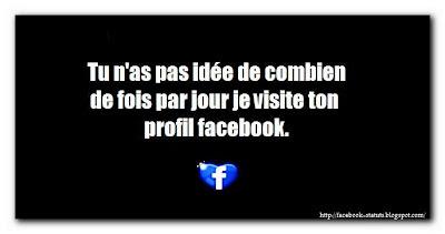 Statut facebook marrant