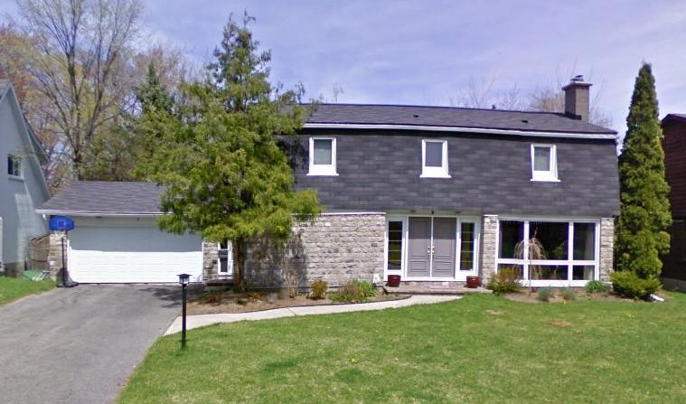 Mid century modern and 1970s era ottawa modern mansard for Modern mansard roof