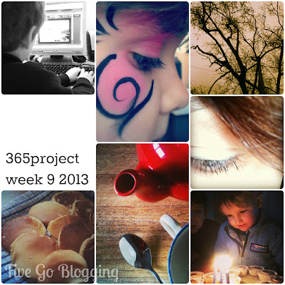 Fivegoblogging 365project week 9 2013