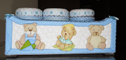 Kit higiene ursinhos Kenji - azul