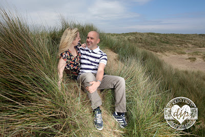 Seaton Carew engagement shoot