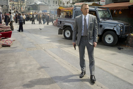Skyfall Daniel Craig Istanbul Market Land Rover at The Hospital Club