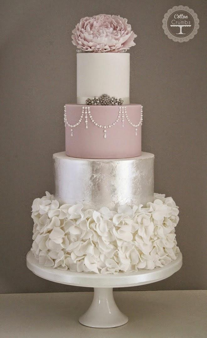 best wedding cakes of 2014   belle the magazine
