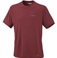 columbia mountain tech 2 men's tall moisture wicking shirt