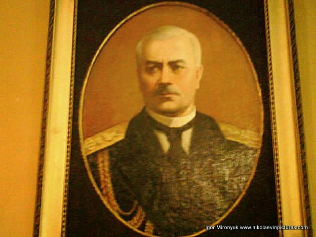 Портрет вице-адмирала Попова