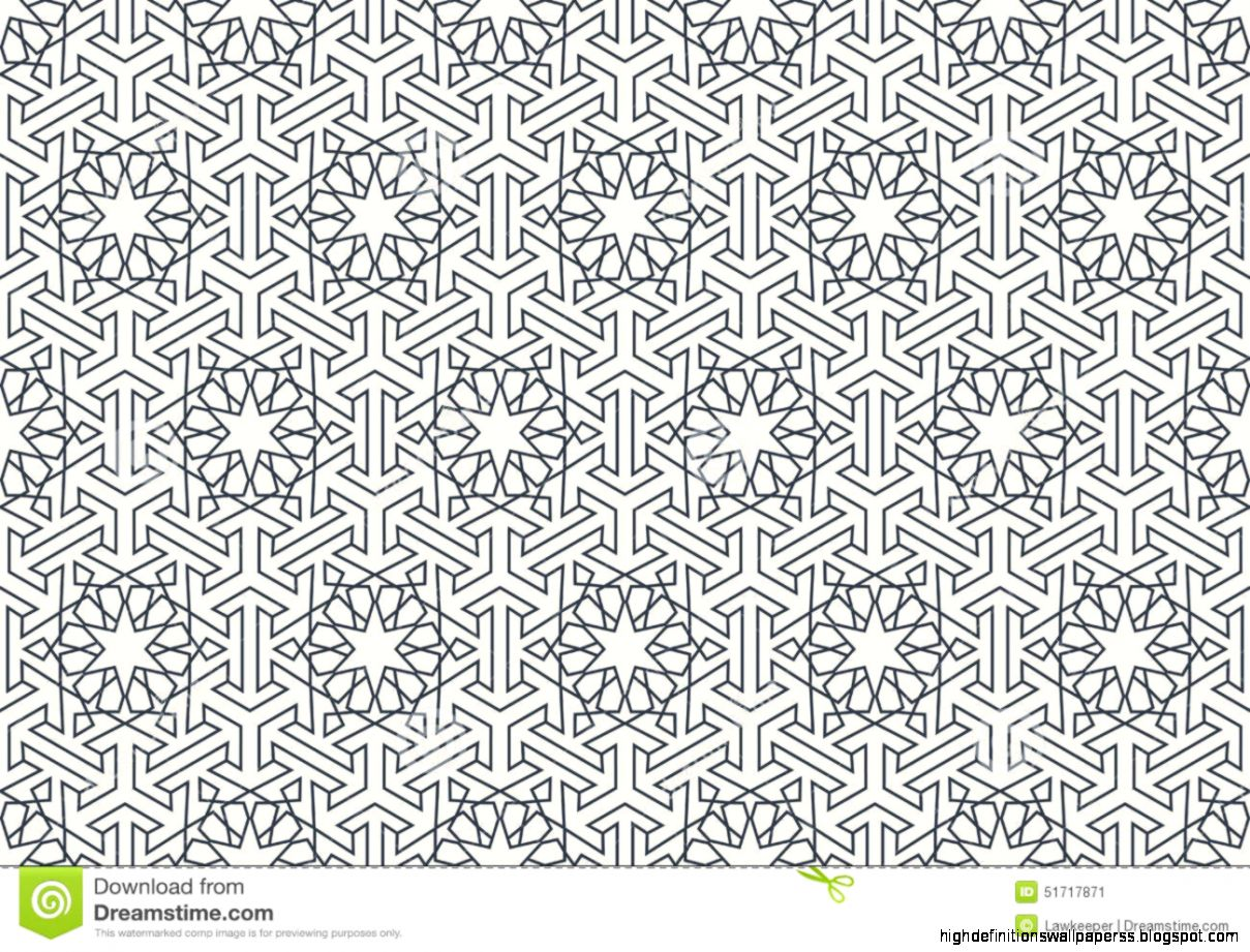 Popular   Wallpaper Horse Pattern - abstract-seamless-geometric-islamic-wallpaper-pattern-stock-vector  Picture_872748.jpg