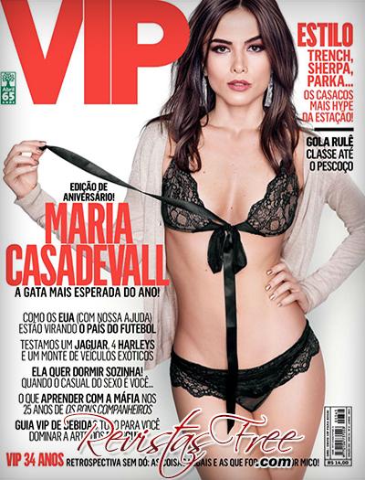 Maria Casadevall - Revista Vip - Junho 2015