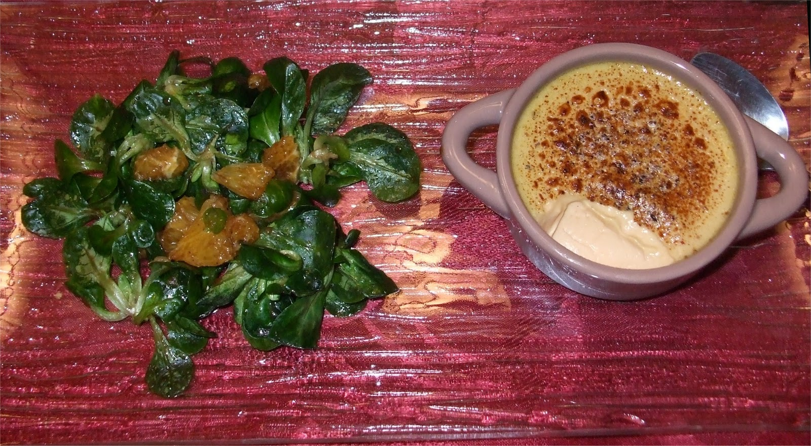 Mon plaisir de cuisiner cr me brul es au foie gras et poivre vert - Cuisiner un foie gras cru ...