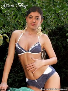 kajal agarwal singham movie bikini photos amp wallpapers