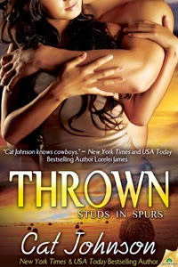 Thrown contemporary cowboy romance novel eBook by Cat Johnson