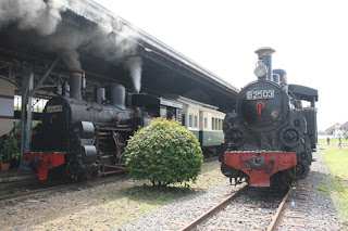 wisata kereta api uap di ambarawa