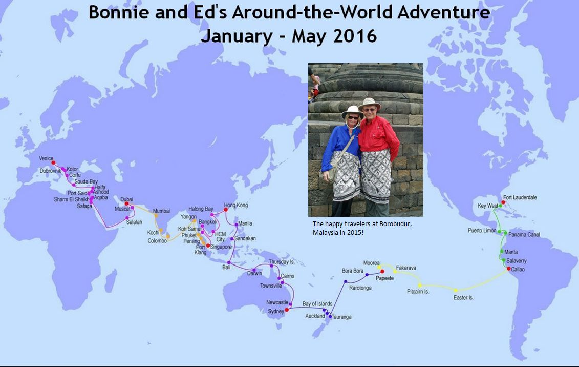bonnie and ed s second around the world adventure