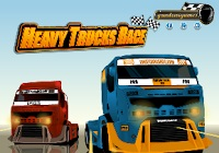 لعبة سباق الشاحنات الثقيلة