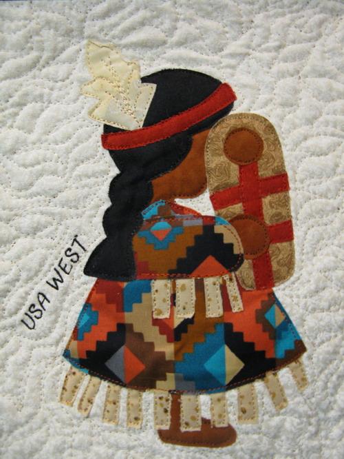 Moosestash Quilting International Sun Bonnet Sue