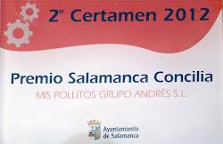 PREMIO SALAMANCA CONCILIA 2012