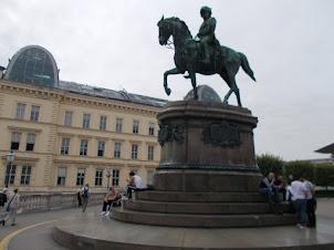 Equestrian statue of  Emperor Joseph