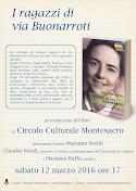 12 marzo 2016 ore 17,00 Circolo Culturale Montesacro