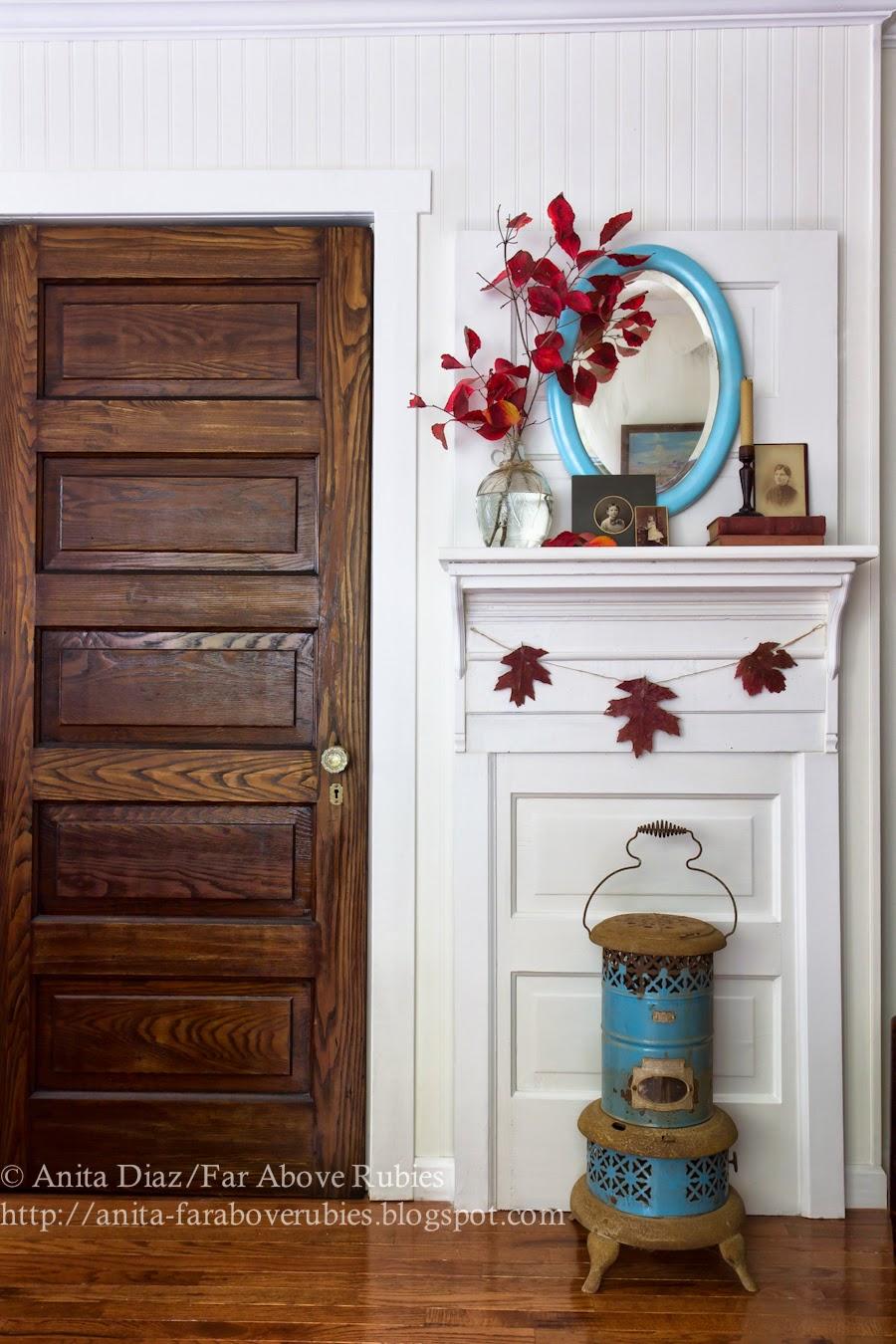 Far Above Rubies Diy Door Upcycle Into Mantel