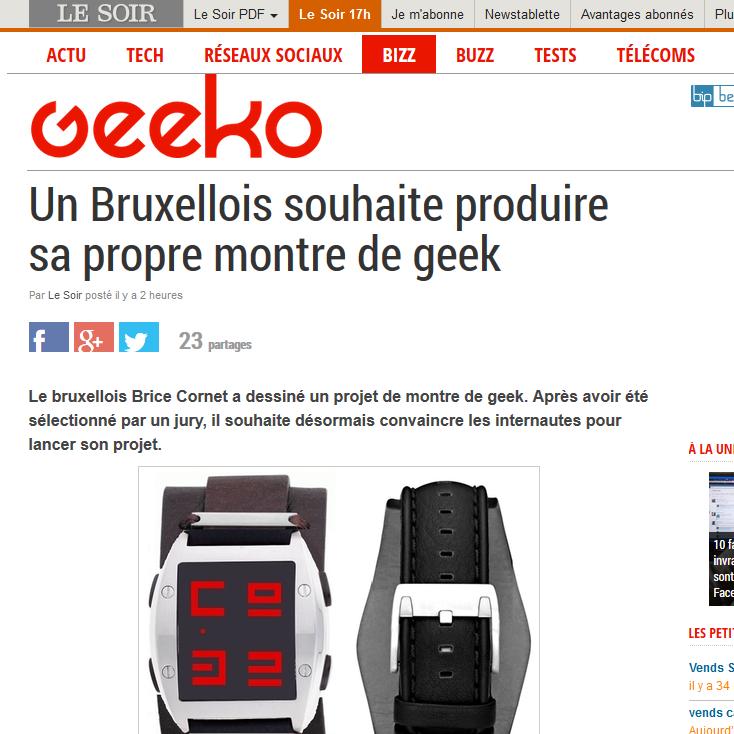 http://geeko.lesoir.be/2014/02/18/un-bruxellois-souhaite-produire-sa-propre-montre-de-geek/