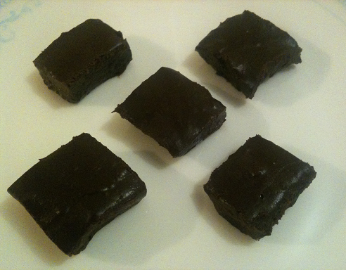 Dairy Free Chocolate Banana Fudge