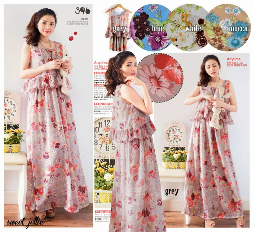 Maxi dress terbaru murahcheaponline