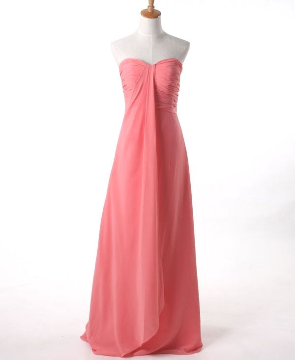 Chic Bridesmaid Dress Coral Bridesmaid Dresses Bright