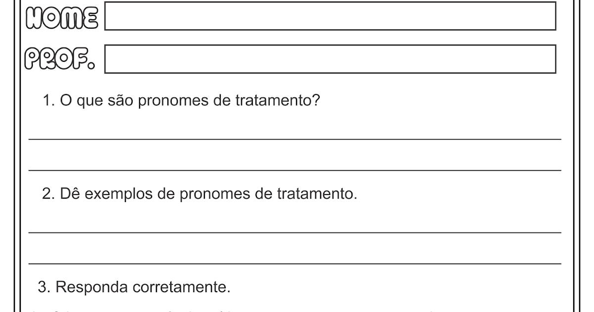 Top Lipitipi- Atividades e Projetos Fundamental I: Pronomes de  PY08