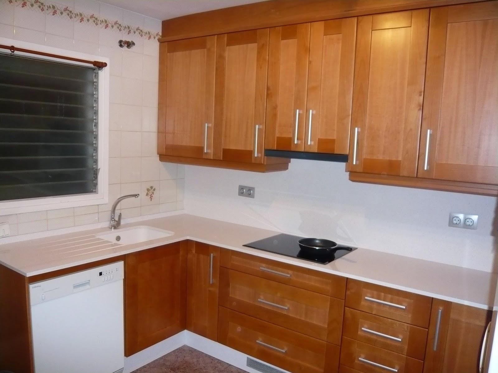 Reuscuina muebles de cocina con puertas macizas - Puertas muebles de cocina ...
