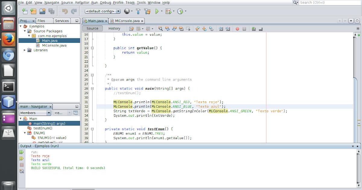 Java Texto De Colores En La Consola
