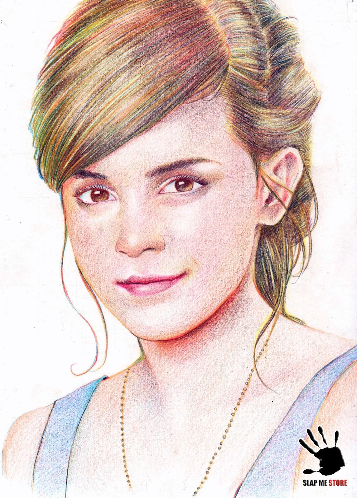 Watson Drawing How to Draw Emma Watson