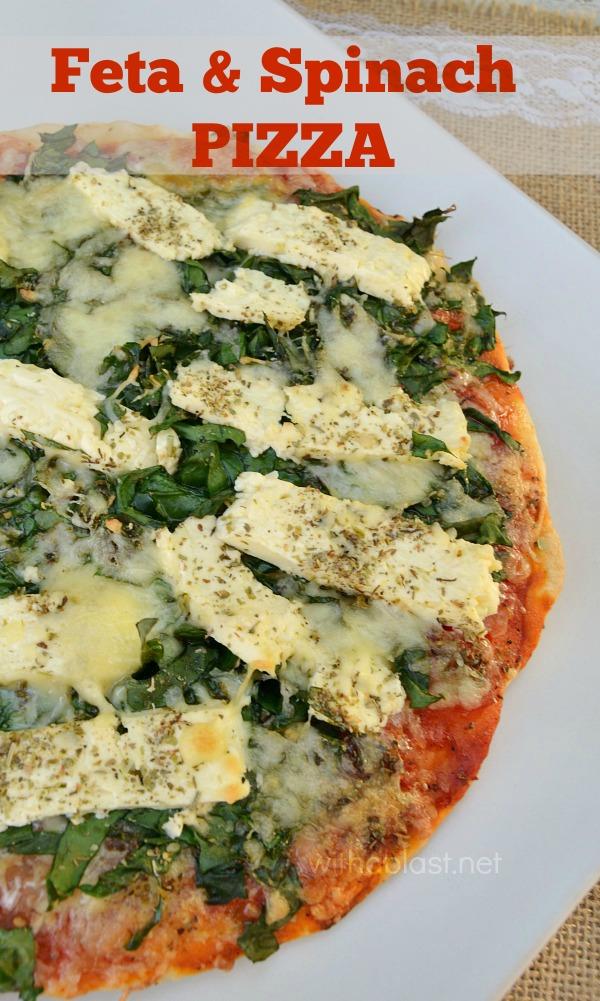 Feta & Cheese Pizza