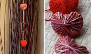 Ideas Recicladas para el Dia de los Enamorados, Decoracion Ecoresponsable
