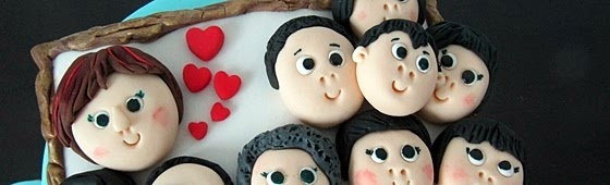 Header picture for Family design cake