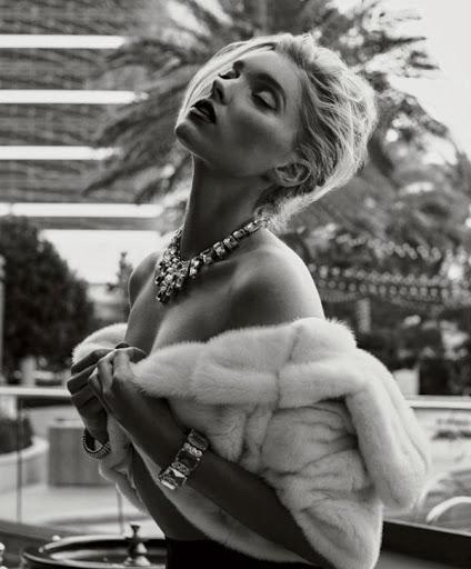 Elsa Hosk hot poses for Maxim Magazine February 2016 photo shoot