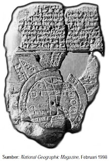 Peta Dunia Pertama, Circa 600 SM