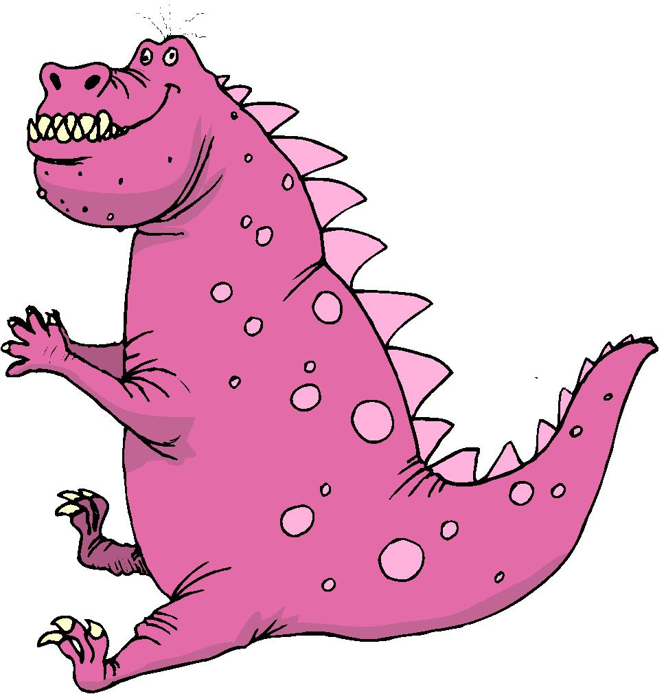 Fat Fantasy Dinosaurs Clipart