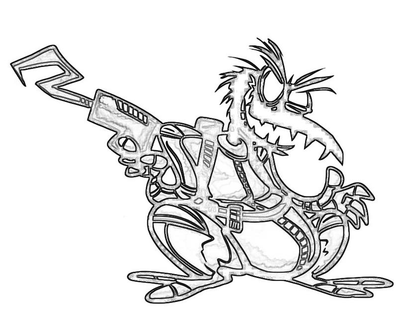 psy-crow-gun-coloring-pages