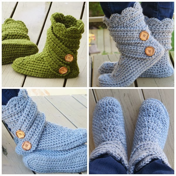 For the Love of Crochet Along: Crochet Boots Pattern for ...