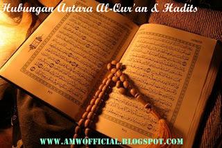 HUBUNGAN ANTARA AL-QUR'AN & HADITS