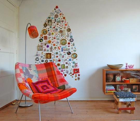 20 Alternativas para el árbol de Navidad