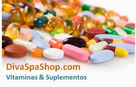 Diva Spa Shop Vitaminas e Suplementos Importados