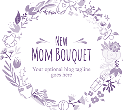 New Mother Bouquet: a blogspot design for mothers