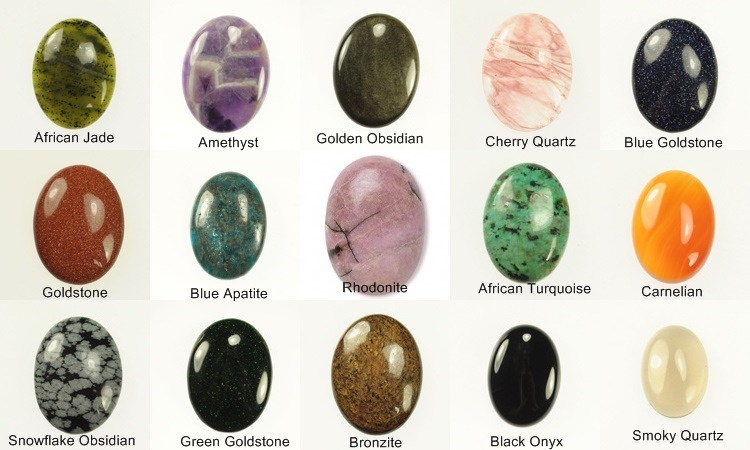 Types Of Stones : Adams handcrafted jewelry