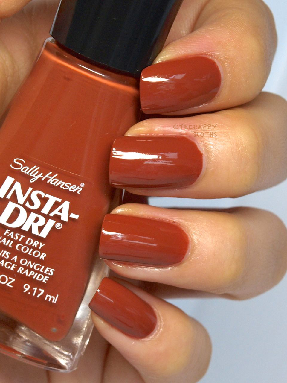 Sally Hansen Insta-Dri Moroccan Spice Market Collection Nail Polish in Moracc-go: Review and Swatches