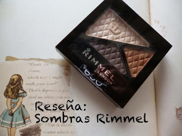 Reseña: Trio de sombras de Rimmel London